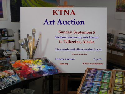 Talkeetna Art Auction