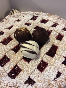 Almond Linzor Torte