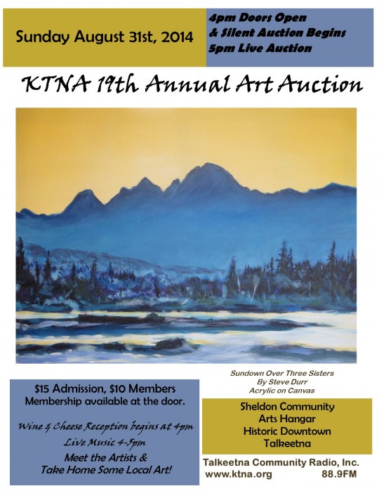Art Auction Poster 2014 McKinley