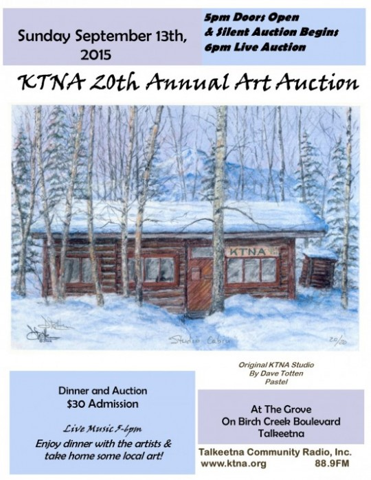 Art Auction Poster 2015