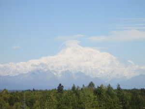 Denali on Monday morning. Photo: Phillip Manning-KTNA