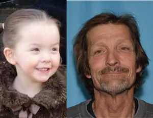 Charlie Burdette, 4, may be with her father, Raymond Martin, 57.  Photos courtesy of the Alaska State Troopers.
