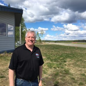 Jim Nelson with Flight Services in Talkeetna.  Photo by Katie Writer - KTNA