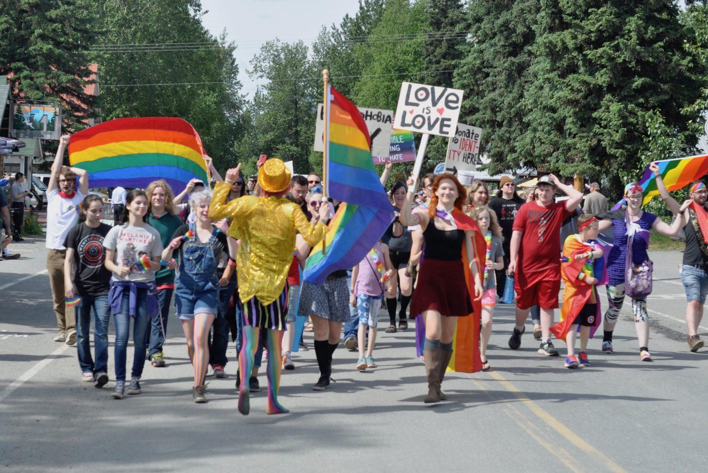 Gay parade street
