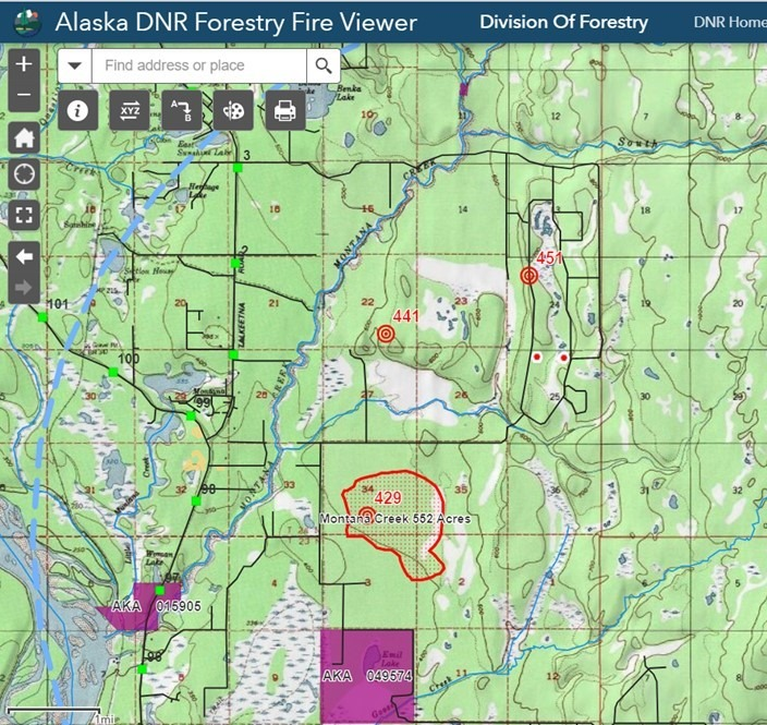 BREAKING: Alaska Division of Forestry issues evacuation order for ...